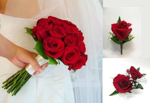 10 piece Rose Wedding Package