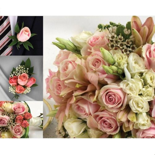 33 Pieces Wedding Flower Package