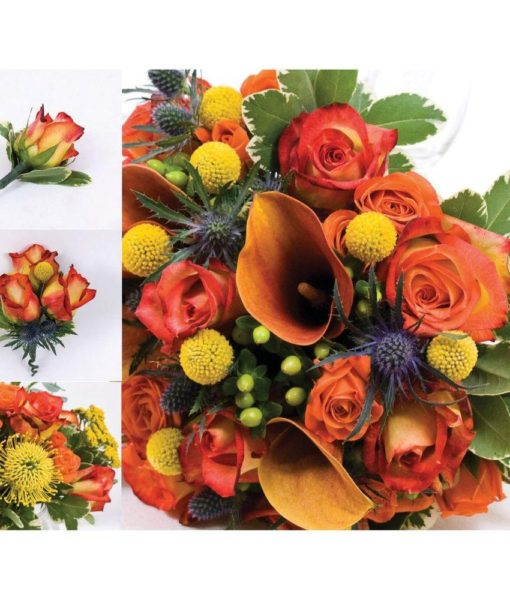 43 Pieces Wedding Flower Package
