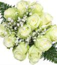 Ten Dozen White Rose Bouquets