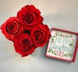 preserved roses in deluxe gift box